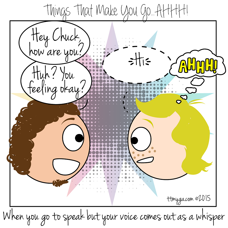 awkward voice comes out as whisper ttmyga things that make you go ahhhh! comics 2015